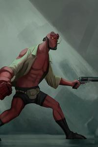 Hellboy 2020 Art