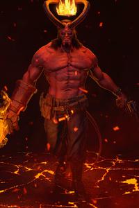 360x640 Hellboy 4k 2020