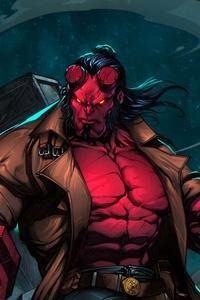 Hellboy 4k Art