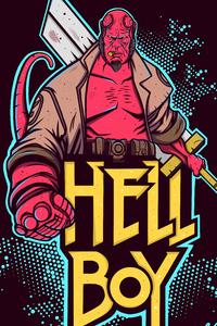 Hellboy 4k Artwork New