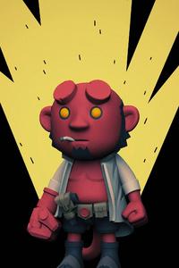 480x800 Hellboy 4k