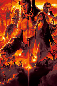 Hellboy 4k Poster