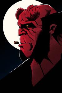 Hellboy Art 4k