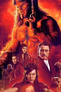 2160x3840 Hellboy China Poster