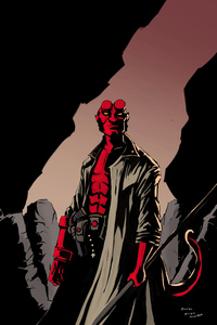 720x1280 Hellboy Cover 5k