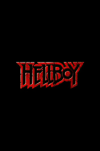 1440x2960 Hellboy Logo 4k