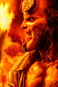 Hellboy Movie New Poster 4k
