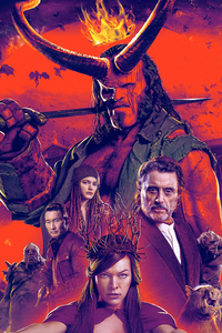 Hellboy Movie Poster 2019 4k