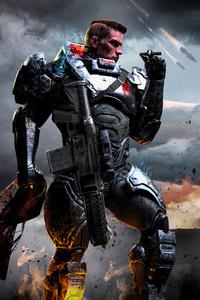 800x1280 Helldogds Scifi Badass Soldier