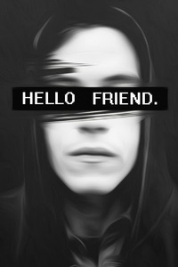 1242x2688 Hello Friend Mr Robot