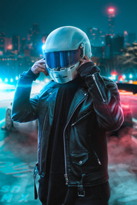 2160x3840 Helmet Guy 4k