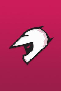 Helmet Minimalist Logo 4k