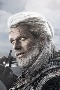 Henry Cavill As Geralt The Witcher 2019