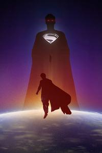 800x1280 Henry Cavill As Superman Minimal 5k
