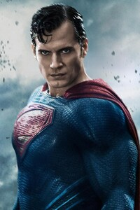 Henry Cavill In Batman Vs Superman Movie