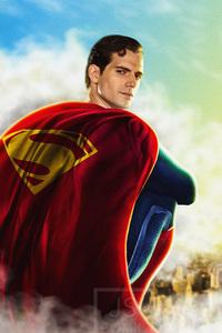 750x1334 Henry Cavill Superman 5k
