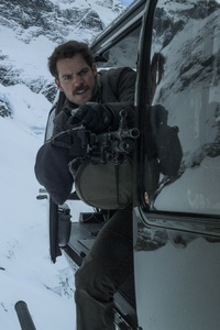 Henry Cavill With Big Gun In Mission Impossible Fallout 2018 8k