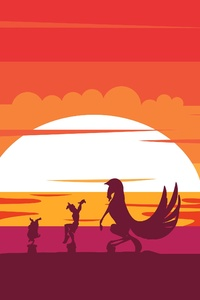 Hercules Disney Minimalism 4k