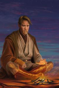 Hermit Obi Wan Kenobi 8K Artwork