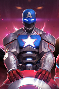 480x854 Heroes Marvel Contest Of Champions