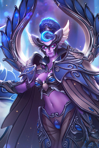 240x320 Heroes Of The Storm Maiev Shadowsong 2020 4k