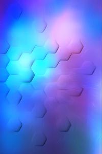 Hexa Polygon Soothing Lights 4k