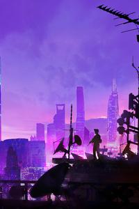 360x640 Heylim City Cyberpunk 4k