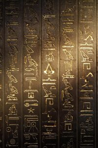 320x480 Hieroglyphs Assassins Creed Origins
