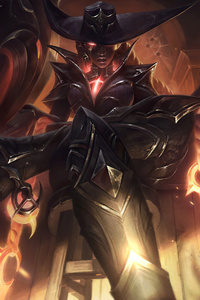 750x1334 High Noon Senna League Of Legends