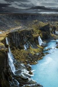 1080x1920 Highlands Iceland 5k