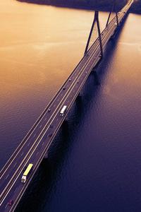 360x640 Highway Bridge Evening 5k