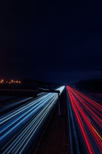 Highway Light Trails 5k