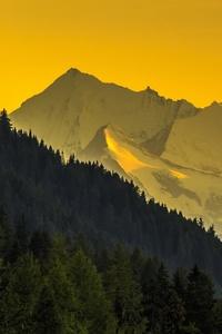 480x800 Hills Yellow Landscape 4k