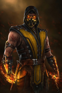 Hiroyuki Sanada As Scorpion From MortalKombat Movie