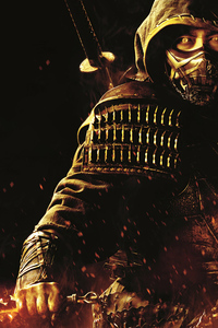 Hiroyuki Sanada As Scorpion Mortal Kombat Movie 5k