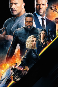 1242x2688 Hobbs And Shaw 2019 4k