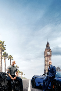Hobbs And Shaw 5k Poster
