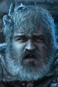 Hodor Game Of Thrones Art