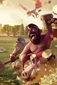 240x400 Hog Rider Clash Of Clans