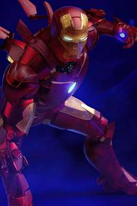 Holographic Iron Man MKIV 4k