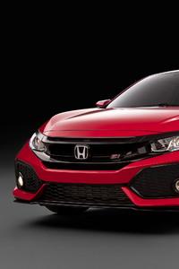 480x854 Honda Civic SI 2017