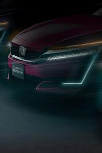 1080x1920 Honda Clarity Series Debut New York International Auto Show
