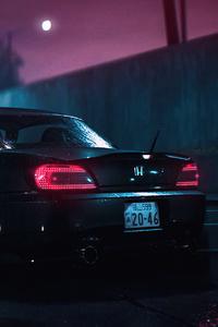 480x854 Honda Nsx Need For Speed Rain
