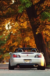 480x854 HONDA S2000 Autumn
