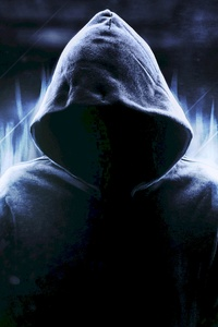 2160x3840 Hoodie Anonymus Guy 5k