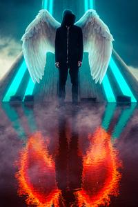 Hoodie Guy Wings
