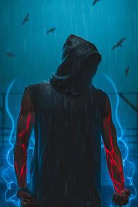 Hoodie Man Powers 4k
