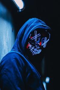 320x480 Hoodie Mask Guy