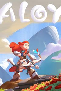 Horizon Zero Dawn Aloy Game 4k