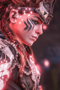 320x480 Horizon Zero Dawn Aloy Game